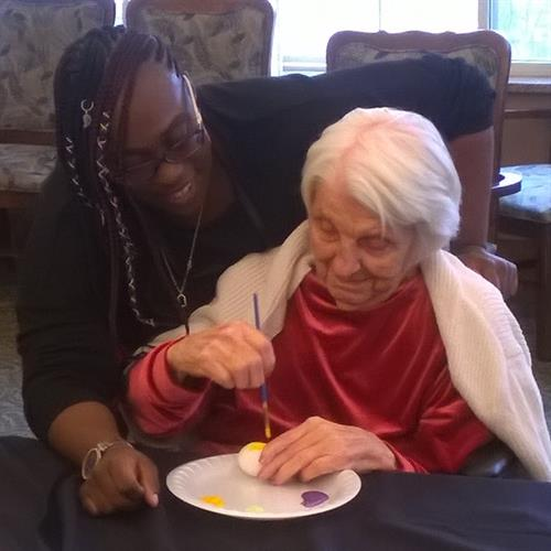 Seniors with dementias live in comfort and dignity at Journey Senior Living of Merrillville