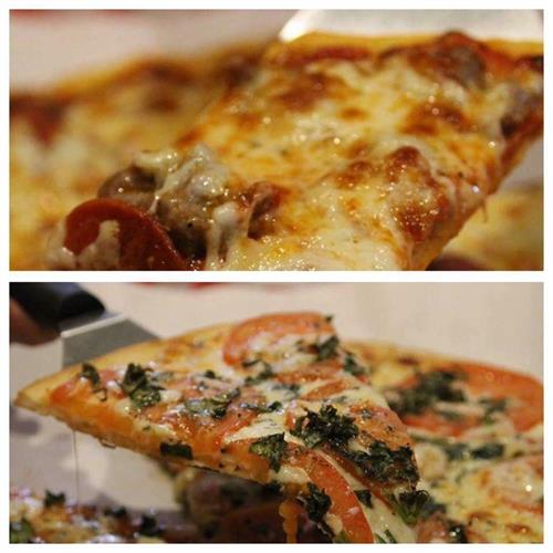 Italian sausage and pepperoni or Margherita pizza. What'll it be?