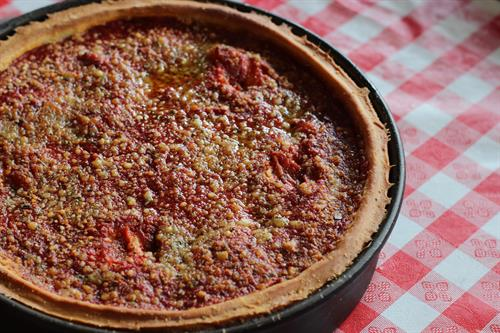 Our Chicago-style stuffed pizza can't be beat.