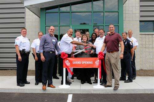 Grand opening of the Calumet City Fire Department Training Center