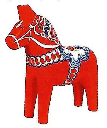 Swedish Dala Horses