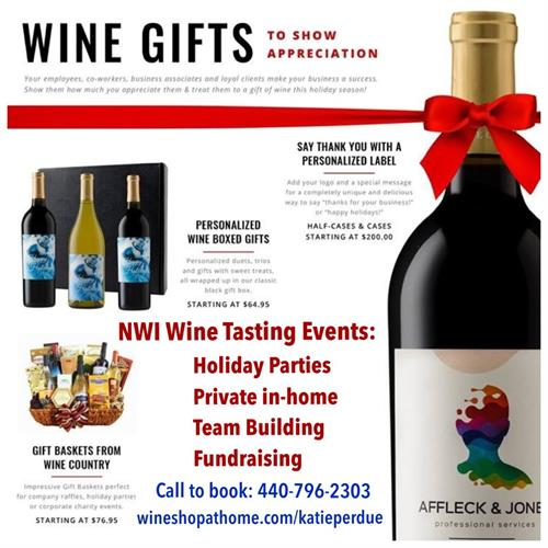 Personalized Wine for Corporate or Client Gifts
