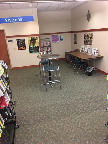 Teen Area before WB Library