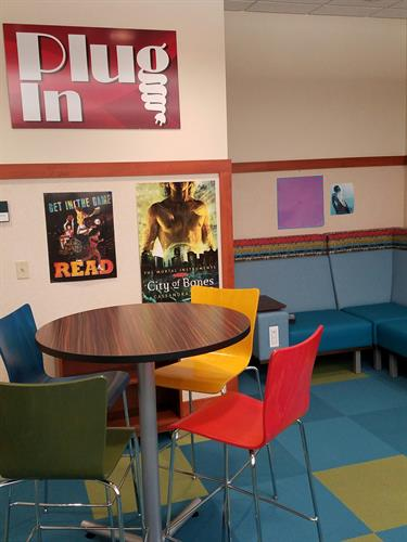 Teen Area after WB Library