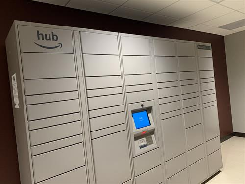 Amazon Package Hub Locker