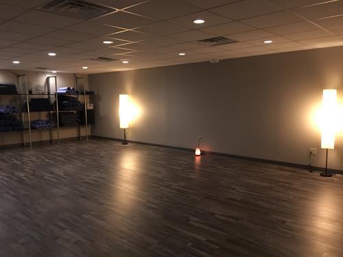 Studio at Lotus Yoga Studio