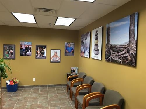 Custom Office Wall Art - Create a custom message for your customers and employees with new office art!