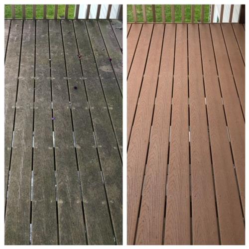 Maintenance Free Deck Cleaning