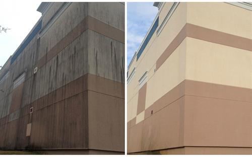 Commercial Siding Cleaning
