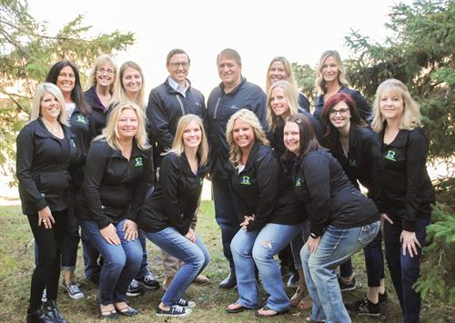 Our amazing team at Veil & Wild Orthodontics!