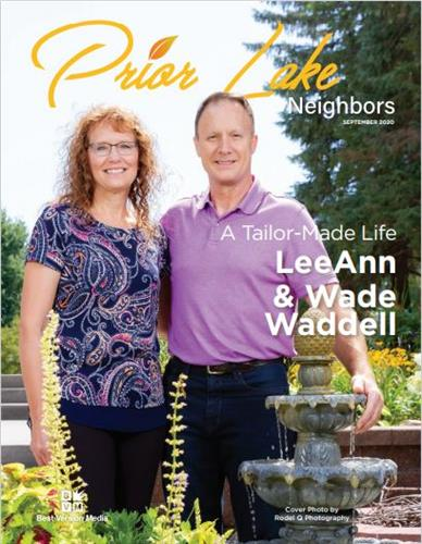 Meet the Waddell Family September 2020 Featured Family