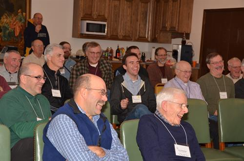 Men enjoying one of our Men's Retreats