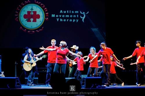 Autism Movement Therapy Dancers at the Temple Grandin & Friends event 5/20/15