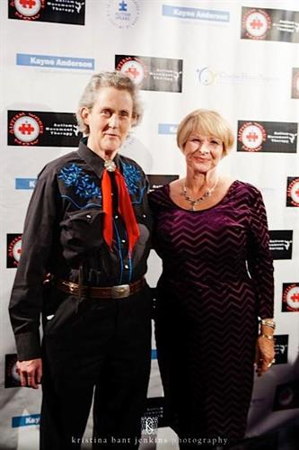 Temple Grandin & Joanne Lara Temple Grandin & Friends: Autism Works Now event Nokia 5/20/15
