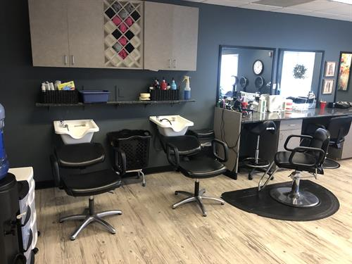 Our full service salon