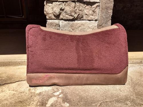 Right Fit orthopedic saddle pads come in many shapes, sizes and colors for both western and english. The pads were designed with the potential for full correction for poor saddle fit  .