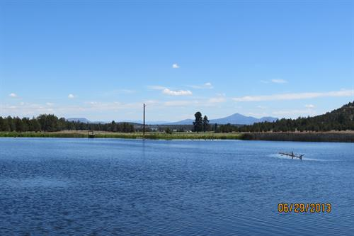 West fly fishing lake.