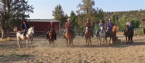Ready for cattledrive.