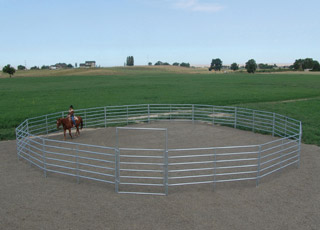 Round Pen, choose 3, 4 ,5 or 6 Rail