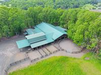 Carlton Equestrian Estate, Ideal Hobby Farm with 50 acres of nature! Offered at $1,750,000