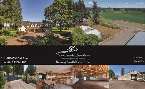Meticulous Equestrian Estate, Optimum Tualatin-Stafford Location!