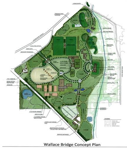 Master Plan for an international level competition facility