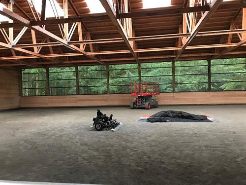 72' x 120' indoor arena