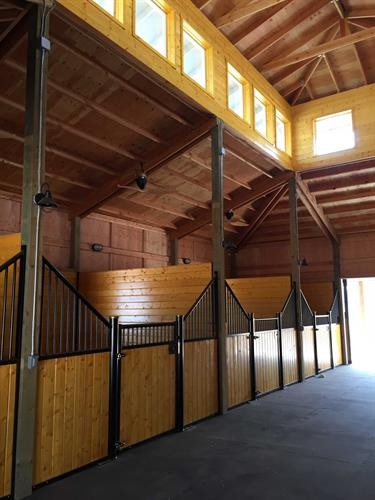 Four stall personal barn