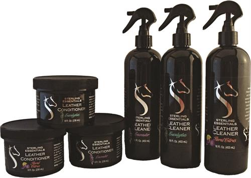 Sterling Essentials Line of Leather Cleaners and Leather Conditioners