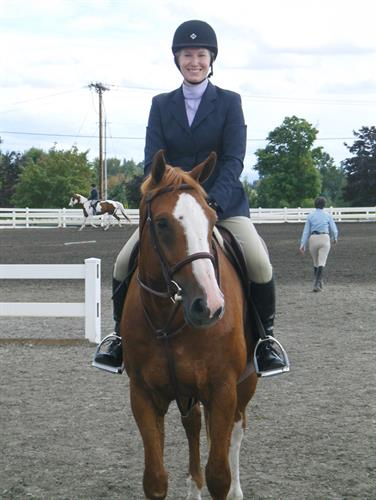 Teal with Pierre, One of the Horses that Inspired it All