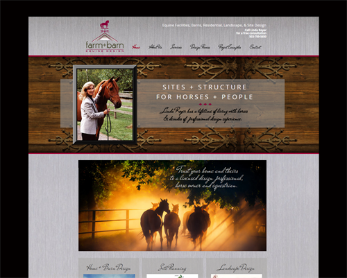 Farm+Barn has a stylish new website by MC2. Good luck, Linda Royer! www.farmplusbarn.com