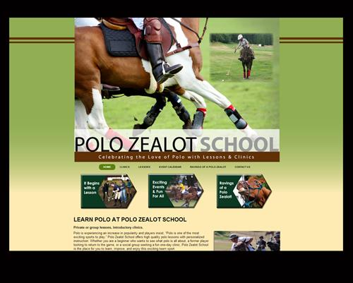 On MC2's suggestion, Polo Zealot received a grant for her website! Loved designing it for her, plus creating a new logo and getting her started in social media.