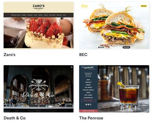 Restaurant Social Marketing & Design