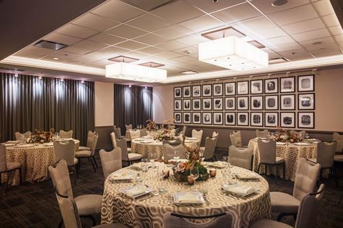 River Room can accommodate up to 170 for a seated meal