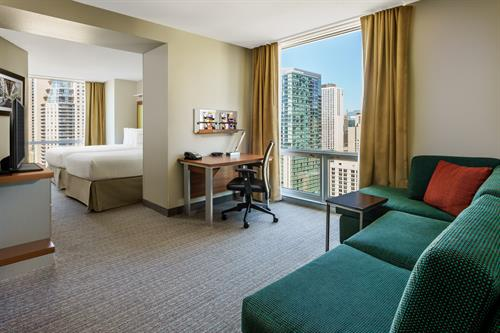Guestrooms with a view! SpringHill Suites