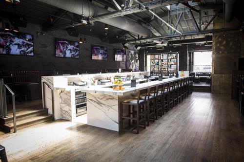 Massive Island-Style Bar