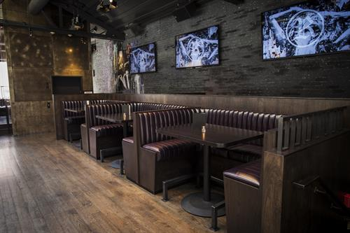 Comfortable Large Bar Booth Seating