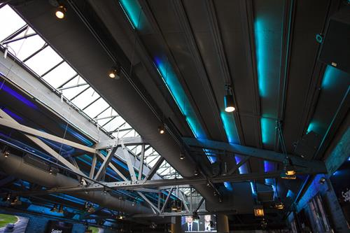 Custom LED Accent Lighting to Fit the Color Scheme of Your Event.