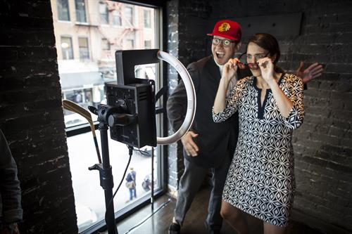 Ask about Added Amenities, like this Photo Booth.