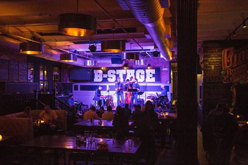 B Stage at Gino's Brewing Co.