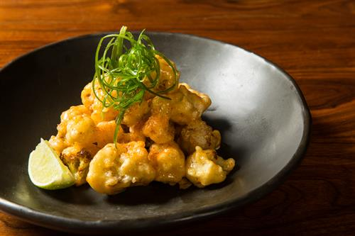 Bang-Bang Crispy Cauliflower