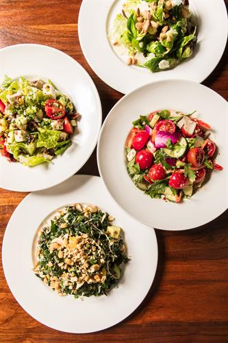 Some of our great salad options!