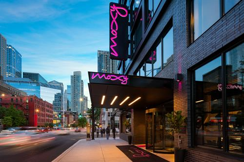 Welcome to Moxy Chicago!