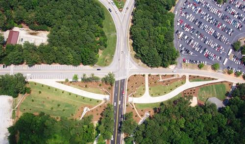 Stone Mountain Park Pedestrain Tunnel and Multi-use Paths