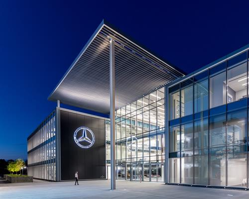 Mercedes- Benz Headquaters
