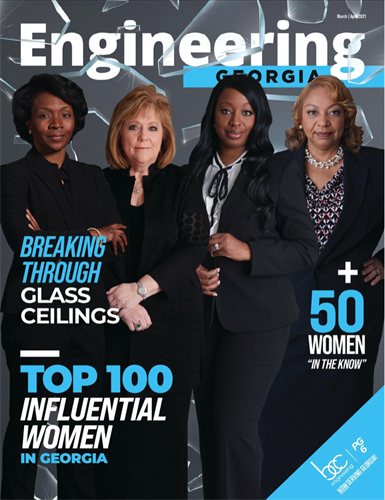 Engineering Georgia Magazine March/April Cover