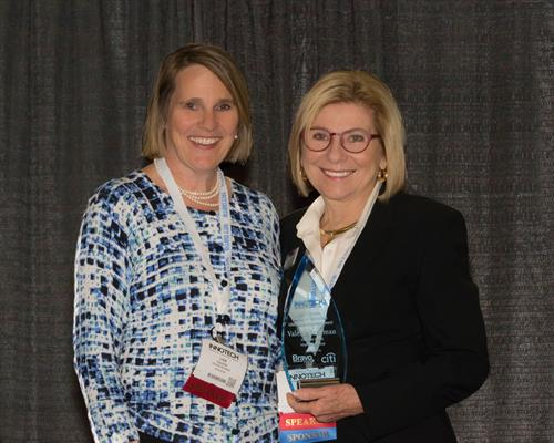 Lisa Danzer with Valerie Freeman at InnoTech