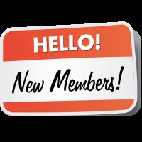New members, spring