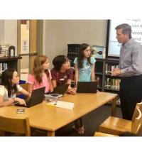 Tech Titans creates hands-on activities during SMARTgirls STEM Camp