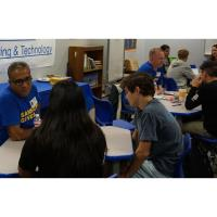 Speed mentoring: face-to-face engagement with students